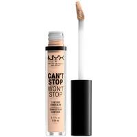 Beauty Damen Concealer & Abdeckstift  Nyx Professional Make Up Can't Stop Won't Stop Contour Concealer light Ivory