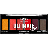 Beauty Damen Set Lidschatten  Nyx Ultimate Edit Petite Shadow Palette phoenix 6x1,2 Gr 6 x 1,2 g