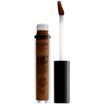 Beauty Damen Concealer & Abdeckstift  Nyx Can't Stop Won't Stop Contour Concealer walnut  3,5 ml