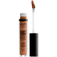 Beauty Damen Concealer & Abdeckstift  Nyx Can't Stop Won't Stop Contour Concealer mahogany  3,5 ml
