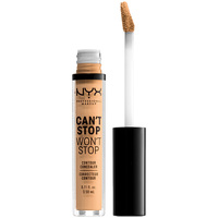 Beauty Damen Concealer & Abdeckstift  Nyx Can't Stop Won't Stop Contour Concealer true Beige  3,5 ml