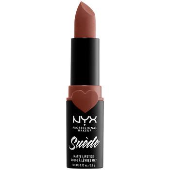 Beauty Damen Lippenstift Nyx Professional Make Up Suede Matte Lipstick free Spirit 3,5 Gr