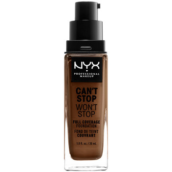Beauty Damen Make-up & Foundation  Nyx Can't Stop Won't Stop Full Coverage Foundation cocoa  30 ml