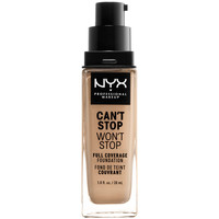 Beauty Damen Make-up & Foundation  Nyx Can't Stop Won't Stop Full Coverage Foundation buff  30 ml