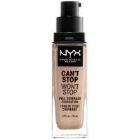 Beauty Damen Make-up & Foundation  Nyx Can't Stop Won't Stop Full Coverage Foundation porcelain 30 ml