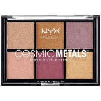 Beauty Damen Set Lidschatten  Nyx Cosmic Metals Shadow Palette 6x1,37gr 1 u