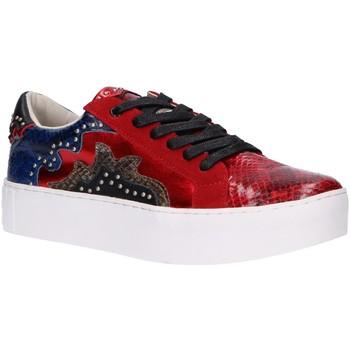 Schuhe Damen Sneaker Sixty Seven 79898 Rojo