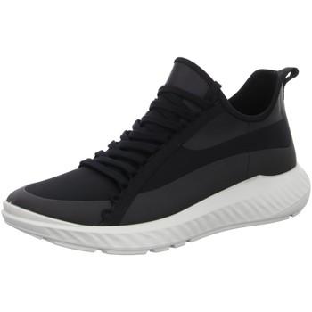 Schuhe Herren Sneaker Low Ecco Schnuerschuhe Mens 504234/51052 schwarz