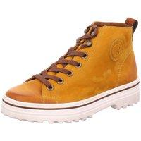 Schuhe Damen Boots Paul Green Stiefeletten 4018 4018-057 gelb