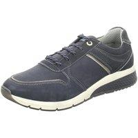 Schuhe Herren Sneaker Low Salamander Schnuerschuhe Tonjo Schnürschuh 31-54805-12 blau