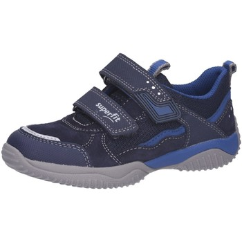 Schuhe Jungen Sneaker Low Superfit Klettschuhe Halbschuh 69015 blau