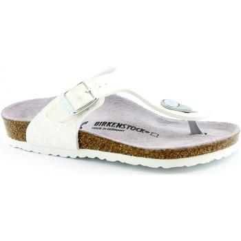 Schuhe Kinder Zehensandalen Birkenstock BIR-RRR-1008165-WH Bianco