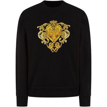 Kleidung Herren Sweatshirts Versace B7GVB7EB Schwarz