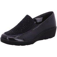 Schuhe Damen Slipper Semler Slipper K-LACK/SAMT-CHEVRO J7155511/080 blau