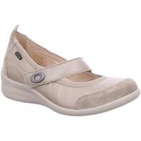 Schuhe Damen Ballerinas Fidelio Slipper hallux 356006 62 beige