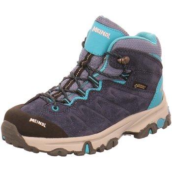 Schuhe Jungen Wanderschuhe Meindl Bergschuhe 2086-29 blau