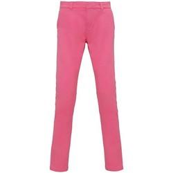 Kleidung Damen Chinohosen Asquith & Fox Chino Pink Carnation