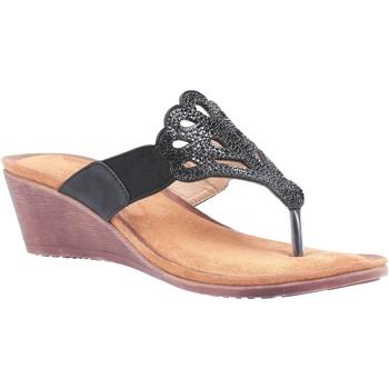 Schuhe Damen Sandalen / Sandaletten Divaz  Schwarz