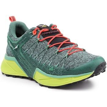 Schuhe Damen Wanderschuhe Salewa Ws Dropline 61369-5585 grün