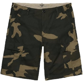 Kleidung Herren Shorts / Bermudas Carhartt AVIATION SHORT CAMOUFLAGE Grün