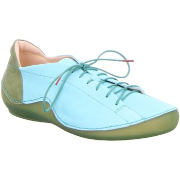 Schuhe Damen Derby-Schuhe Think Schnuerschuhe KAPSL 0-686062-9300 blau