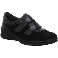 Schuhe Damen Slipper Semler Slipper Xenia X2485441/001 schwarz
