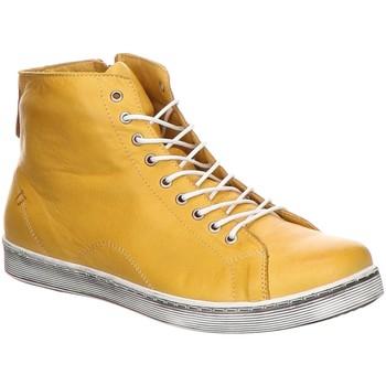 Schuhe Damen Sneaker High Andrea Conti Stiefeletten 0341500768 0341500768 gelb