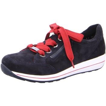 Schuhe Damen Sneaker Low Ara Komfort Osaka-Hightsoft 12-34587-26 blau