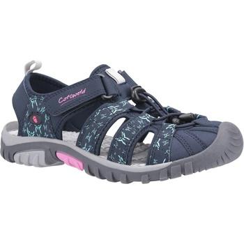 Schuhe Damen Sandalen / Sandaletten Cotswold  Navy/Pink