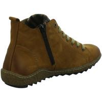 Schuhe Damen Stiefel Remonte Dorndorf Stiefeletten Schnürstiefelette Kaltfutter R4789-22 braun