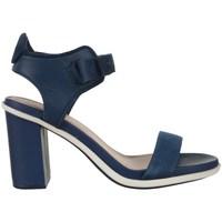 Schuhe Damen Sandalen / Sandaletten Lacoste Lonelle Heel Sandal Dunkelblau