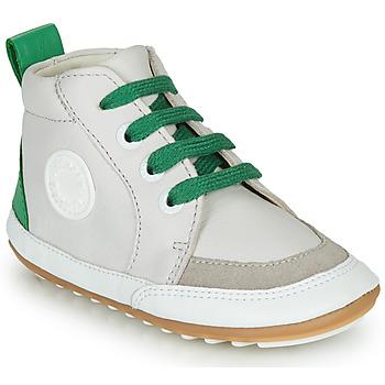 Schuhe Kinder Boots Robeez MIGO Beige / Grün