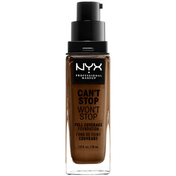 Beauty Damen Make-up & Foundation  Nyx Can't Stop Won't Stop Full Coverage Foundation walnut  30 m
