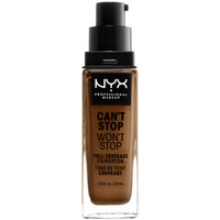 Beauty Damen Make-up & Foundation  Nyx Can't Stop Won't Stop Full Coverage Foundation sienna  30 m