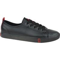 Schuhe Damen Sneaker Low Big Star GG274007 Schwarz
