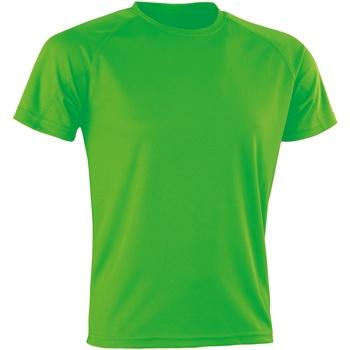 Kleidung T-Shirts Spiro Aircool Grün