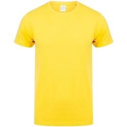 Kleidung Herren T-Shirts Skinni Fit SF121 Gelb
