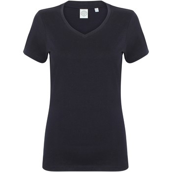 Kleidung Damen T-Shirts Skinni Fit SK122 Marineblau