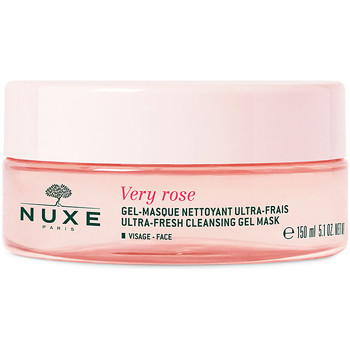 Beauty Damen Serum, Masken & Kuren Nuxe Very Rose Gel-masque Nettoyant Ultra Frais Visage  150 ml