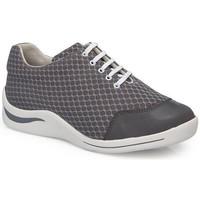 Schuhe Damen Sneaker Low Calzamedi DIABETIC SPORT SCHUHE GRAU
