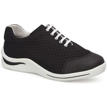 Schuhe Damen Sneaker Low Calzamedi DIABETIC SPORT SCHUHE SCHWARZ