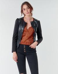 Kleidung Damen Jacken / Blazers Moony Mood NAMOUR Schwarz