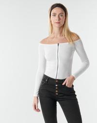 Kleidung Damen Tops / Blusen Moony Mood NOAM Weiss