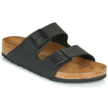 Schuhe Pantoffel Birkenstock ARIZONA LARGE FIT Schwarz