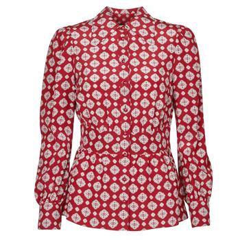 Kleidung Damen Tops / Blusen MICHAEL Michael Kors LUX PINDOT MED TOP Bordeaux