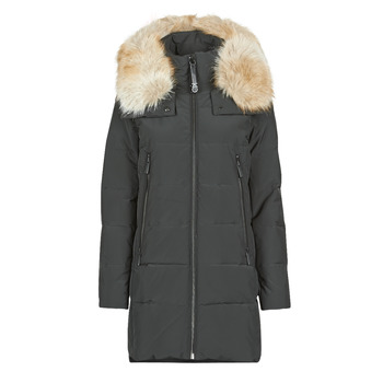 Kleidung Damen Daunenjacken MICHAEL Michael Kors ELEVATED DOWN FUR COLLAR HOOD Schwarz