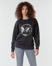 Kleidung Damen Sweatshirts MICHAEL Michael Kors MK CRCL CLSC SWTSHRT Schwarz