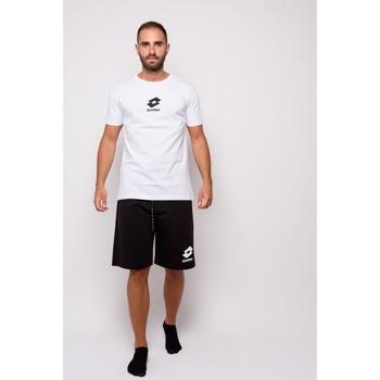 Kleidung Herren T-Shirts Lotto Half Sleeve Jersey T-Shirt (ltu012-weiß) Weiss