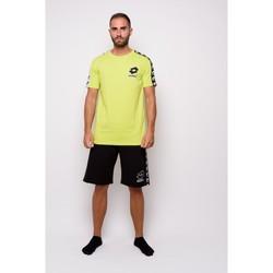 Kleidung Herren T-Shirts Lotto Halbe Ärmel Jersey-T-Shirt (ltu016-grün) Grün