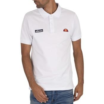 Kleidung Herren Polohemden Ellesse Montura Poloshirt wei